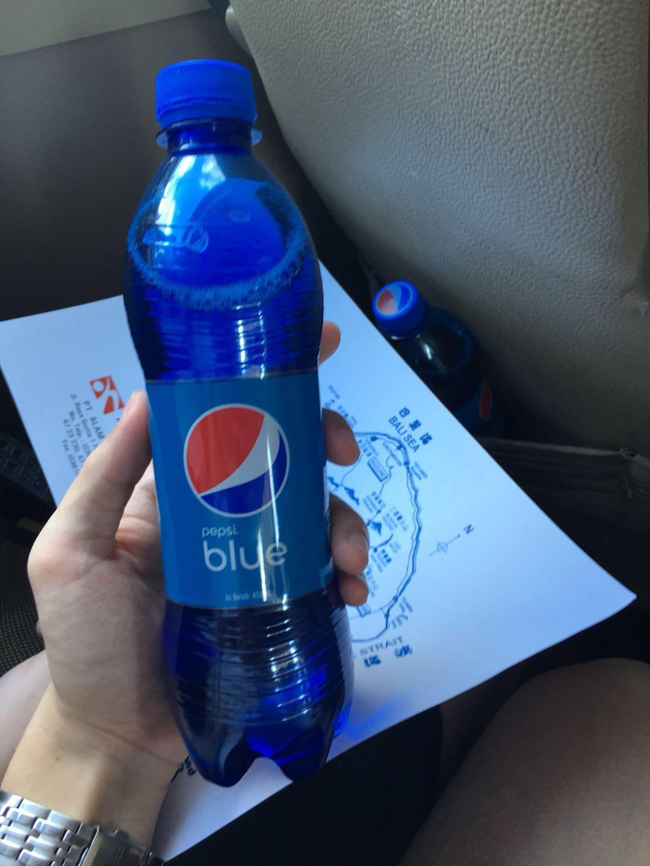 Pepsl blue 蓝色可乐